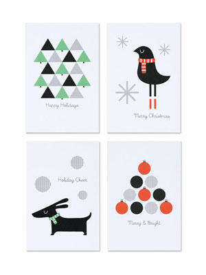 Holiday Postcards | Pei Design