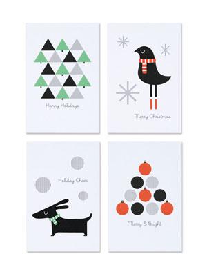 Holiday Postcards   Pei Design