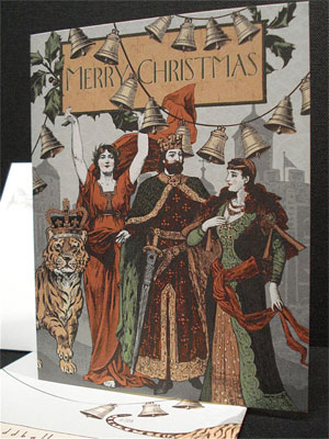 Tudor Christmas Card | Oddball Press