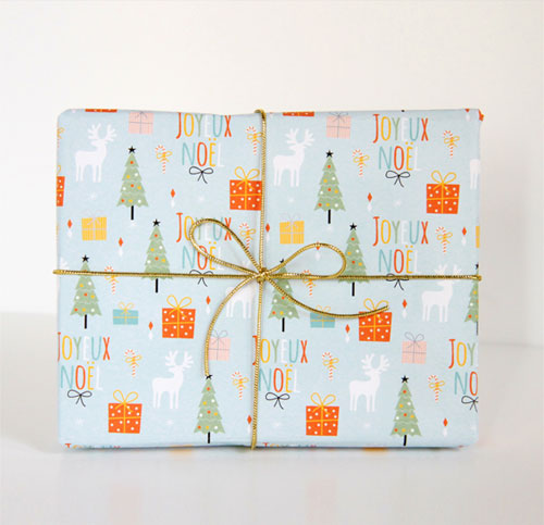 Free Printable Holiday Gift Wrap | Zü