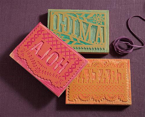 Papel Picado-Inspired Linocuts | Lilco Letterpress