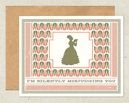 Funny, Modern Greeting Card | Matt Peterson