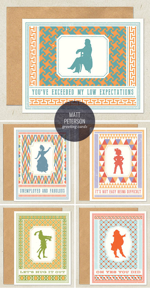 Snarky, Retro Modern Greeting Cards | Matt Peterson