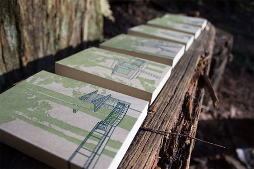 Treehouse Letterpress Notebooks | Constellation & Co.