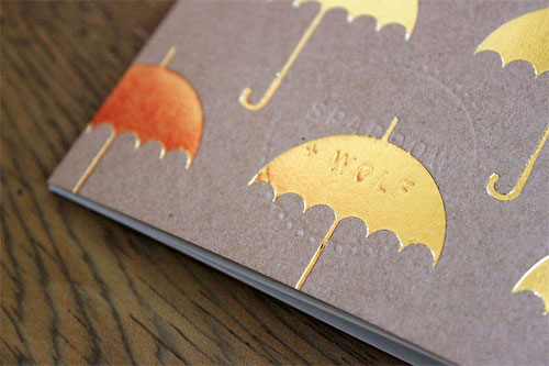 Foil Stamped Notebooks | Sparrow + Wolf