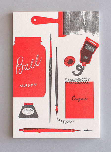 Tom Froese Letterpress Stationery (printing by Everlovin' Press)