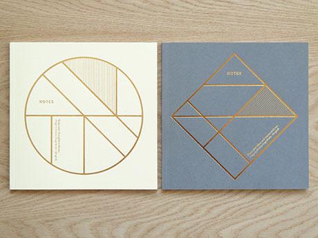 Foil Grid Notebooks   Present & Correct