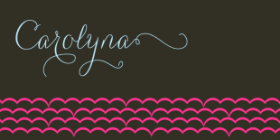 Carolyna Font by Emily Lime