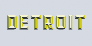 Detroit Font by Match & Kerosene