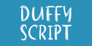 Duffy Script by Nick Shinn