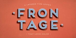Frontage Font by Juri Zaech