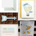 Happy Graduation Cards, Pt. 1 as seen on papercrave.com