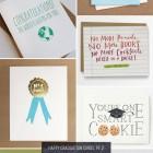 Happy Graduation Cards, Pt. 2 as seen on papercrave.com