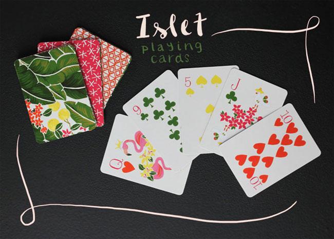 Islet Playing Cards | Karla Pruitt