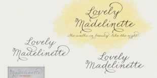 Madelinette Font by Tart Workshop