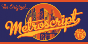 Metroscript by Alphabet Soup