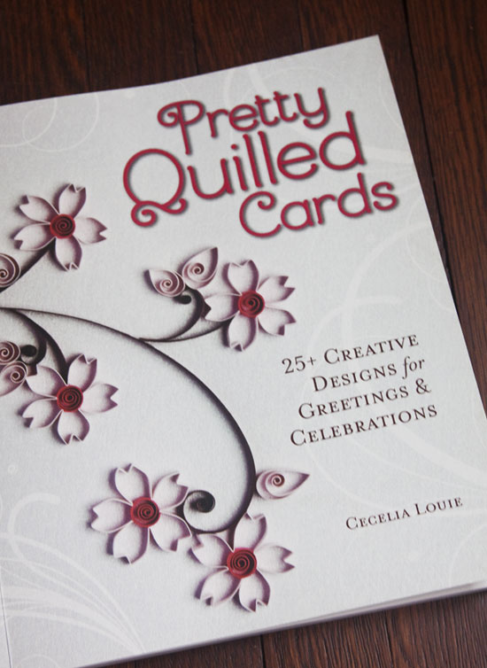 Pretty Quilled Cards by Cecelia Louie