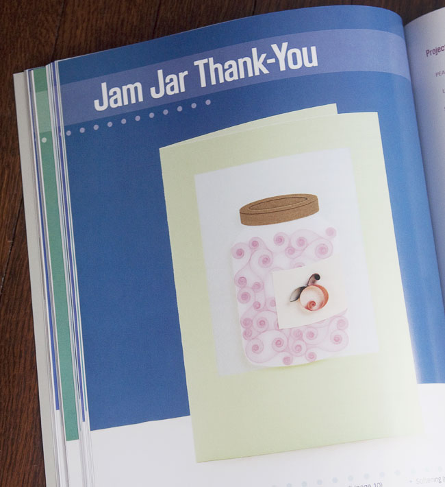 Pretty Quilled Cards (Jam Jar Thank You)
