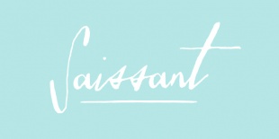 Saissant Font by Magpie Paper Works