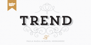 Trend Font by Latinotype