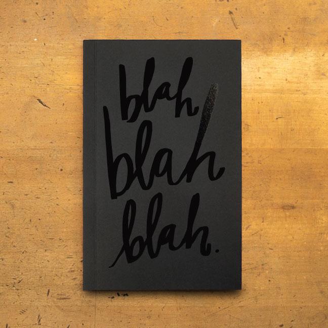 Blah Blah Blah Journal | Easy, Tiger