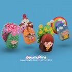 Terralings Free Printable Paper Toys | Dewmuffins