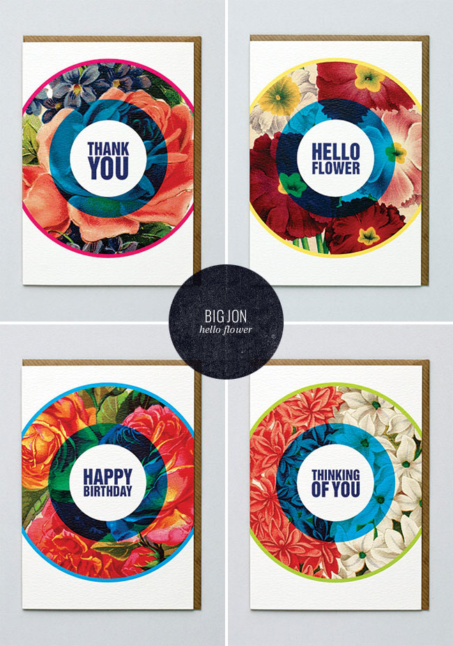Hello Flower Cards | Big Jon