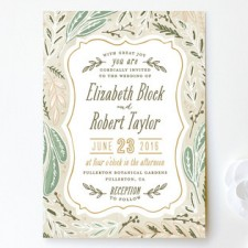 Herb Garden Wedding Invitations by Alethea and Ruth