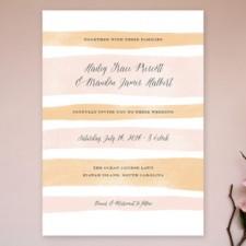 Sorbet Stripes Wedding Invitations by Jennifer Wick