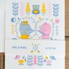 Adorable Fox Letterpress Wedding Invitations   Suzy Ultman (Design) + Igloo Letterpress (Printing)