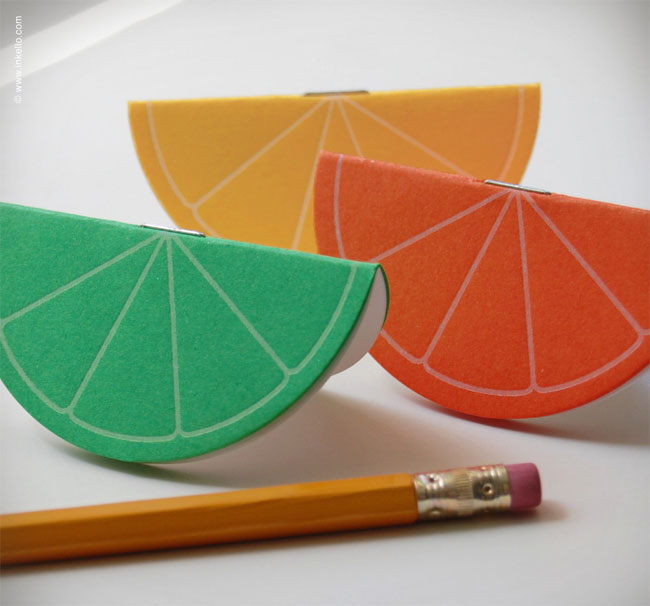 Citrus Mini Booklets | Inkello