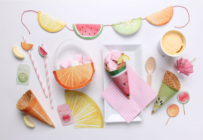 Free Feeling Fruity Printables | Tinyme
