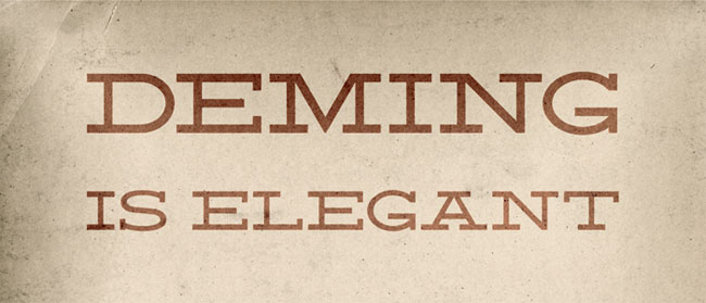 Deming Font by Mike Fortress