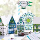 Kid's Table Paper Crafts + Free Printables | Lova Blavarg for Sweet Paul