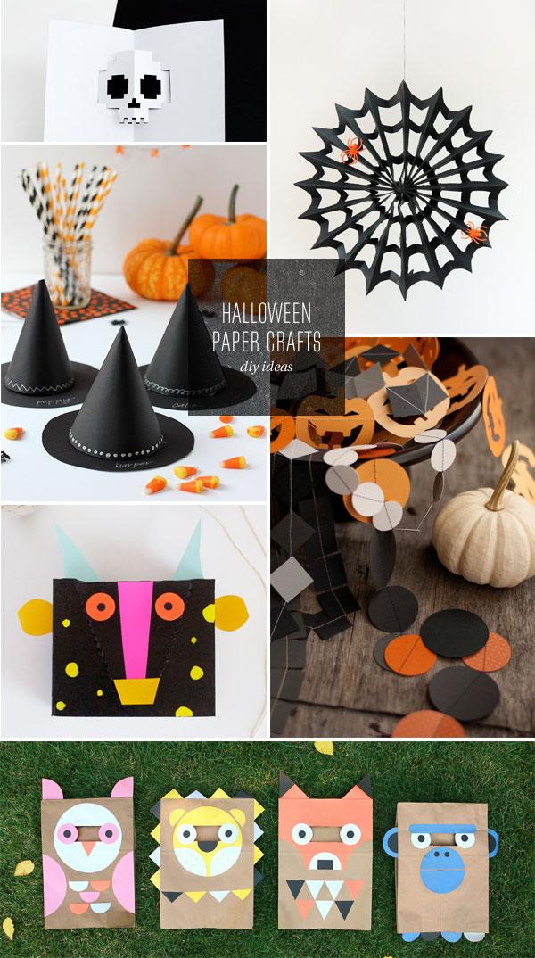 DIY Halloween Paper Craft Ideas
