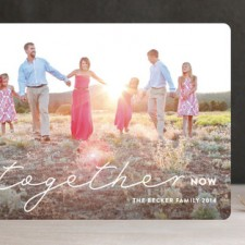 All Together Now Holiday Photo Cards