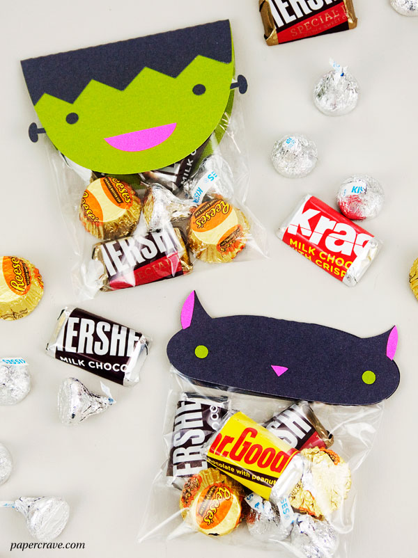 Free Cute Halloween Treat Bag Toppers (SVG Cut Files)