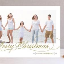 Fresh Christmas Wishes Holiday Photo Cards