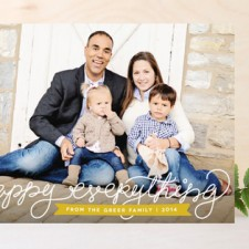 Joyfully Jotted Holiday Photo Cards