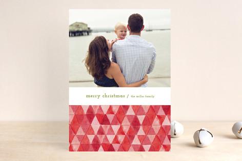 Painted Diamonds Holiday Photo Cards