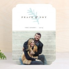 Painted Pines Holiday Photo Cards