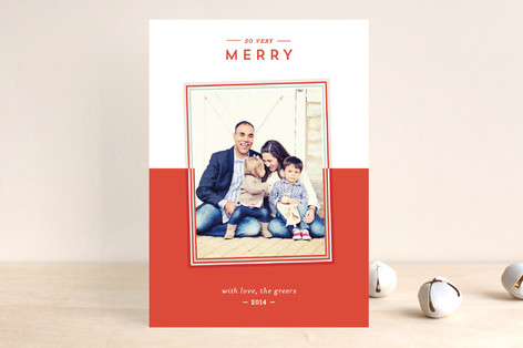 So Very Holiday Photo Cards