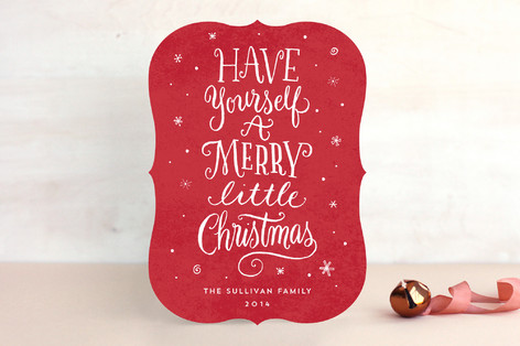 A Little Christmas Whimsy Non-Photo Holiday Cards