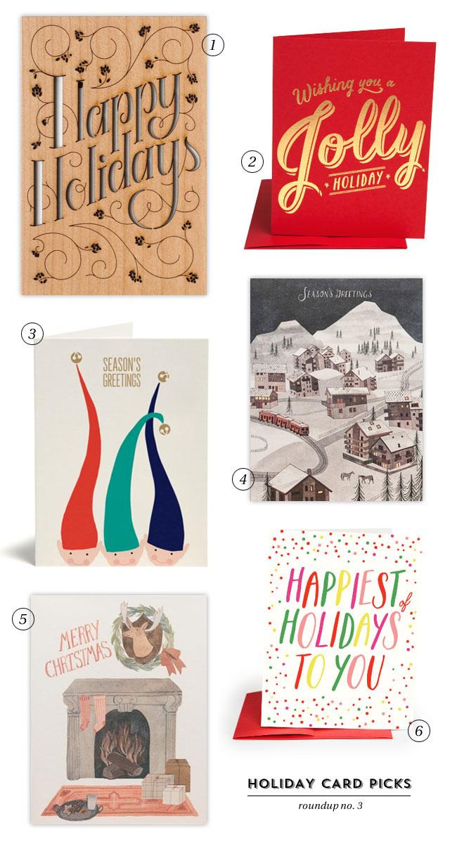 Holiday Card Picks, Roundup #3