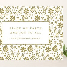 Joy to All Business Holiday Cards