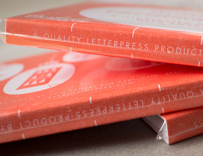 Letterpress Cards | Tom Froese (Illustration) + Everlovin' Press (Printing)