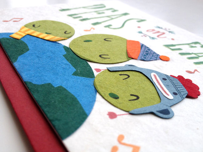 Good Paper Handmade Holiday Cards (detail)