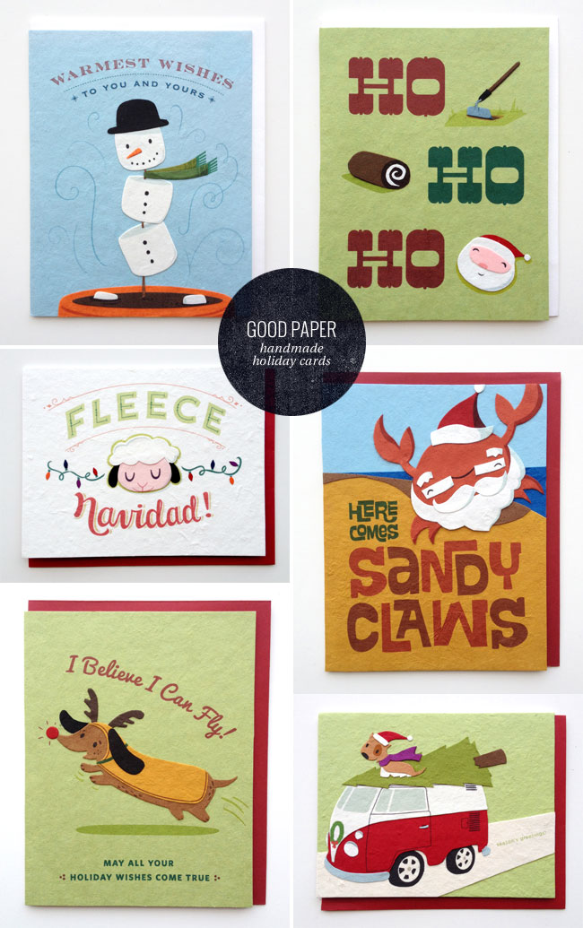 Good Paper Handmade Holiday Cards