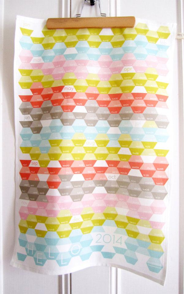 Heather Dutton 2015 Tea Towel Calendar