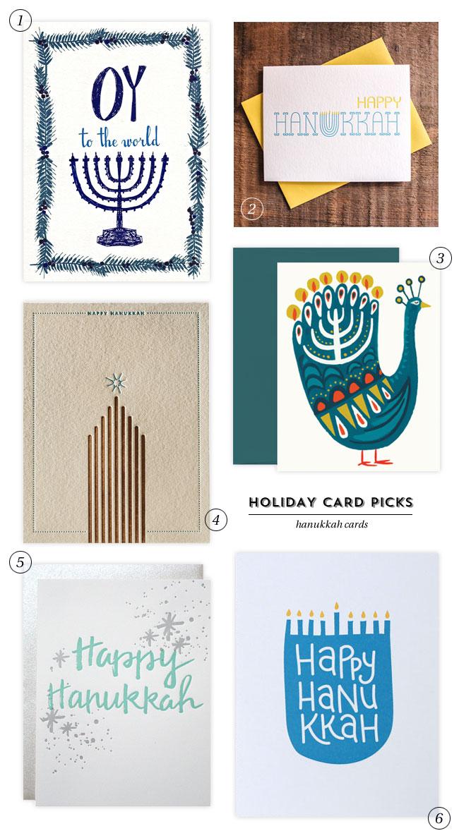 Modern Hanukkah Cards
